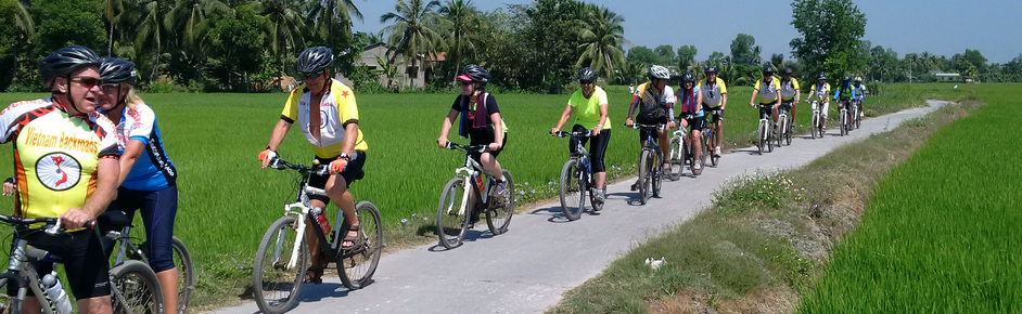 Biking from SAIGON to PHNOMPENH 5D/4N